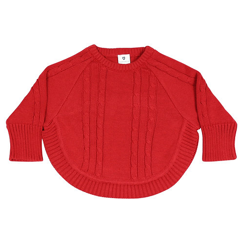 Korango Girls Knit Poncho