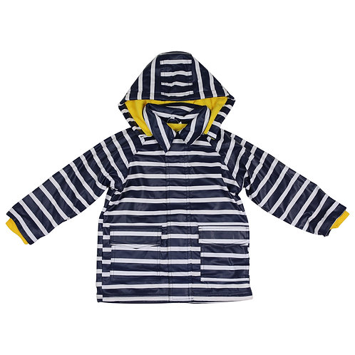 Korango Striped Raincoat