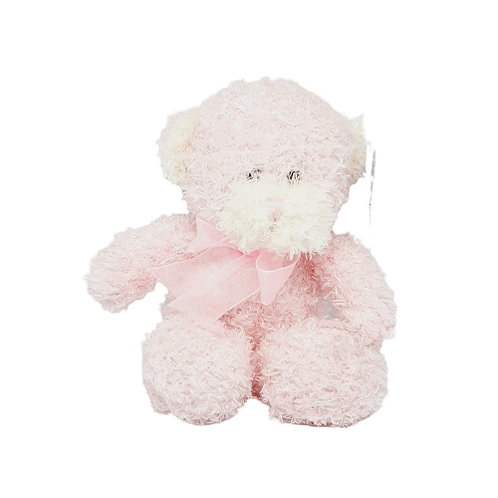 Scruffy Pink Bear
