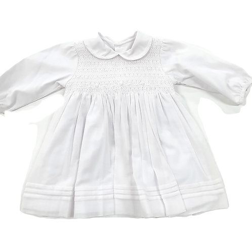 Smocked Rosettes Dress
