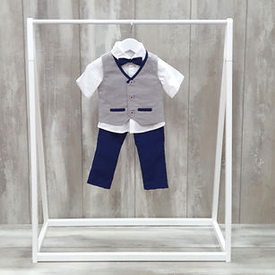 Boys christening suit