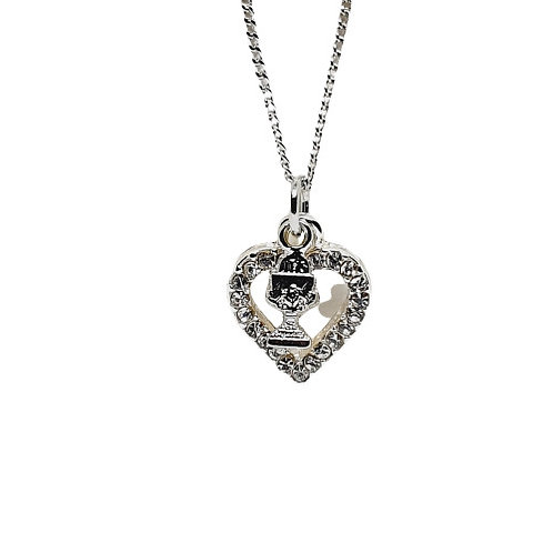 Heart & Chalice Necklace