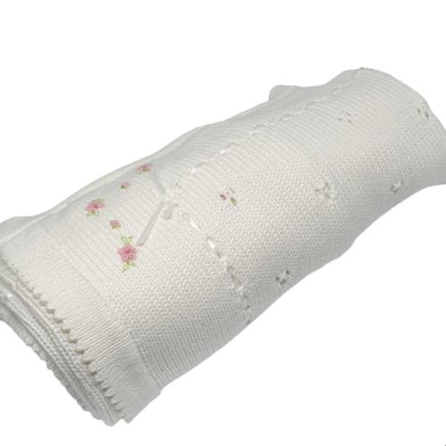 Rosette Baby  Blanket