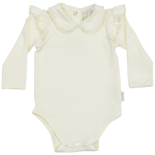 Girls Collared Bodysuit