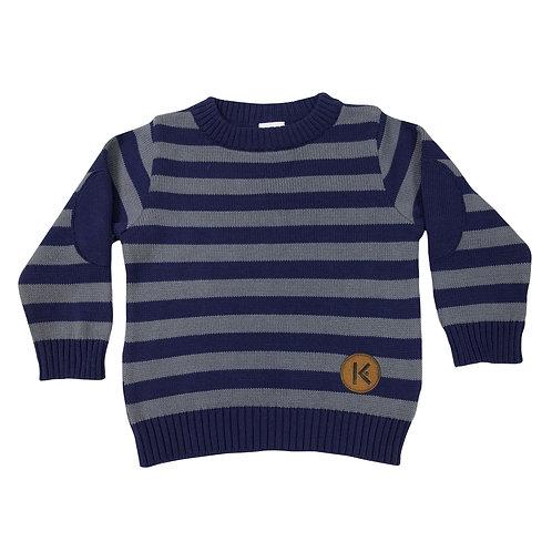 Korango Striped Knit Sweater