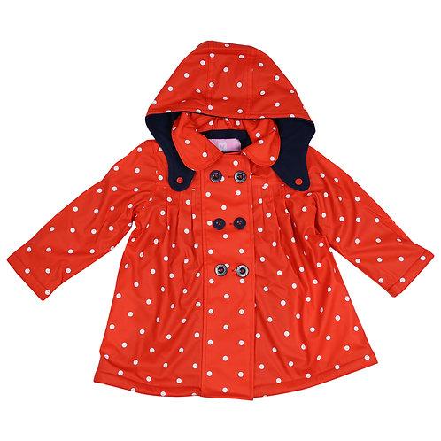 Korango Girls Polkadot Raincoat