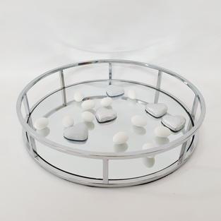 Round Mirror Tray