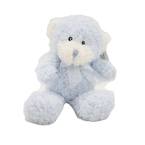 Scruffy Blue Bear