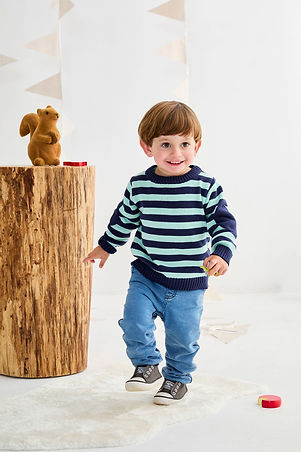 Boys Stripe Sweater