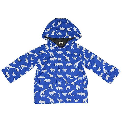 Korango Boys Safari Colour Changing  Raincoat