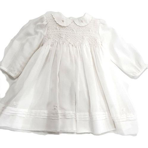 Smocked Rosettes Dress