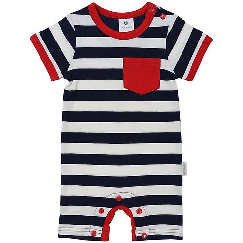 Korango Nautical Stripes Cotton Romper