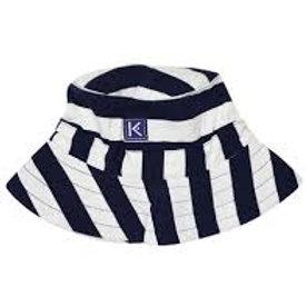 Korango Nautical Stripes Cotton  Sunhat Set