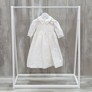 Boys christening romper with cape