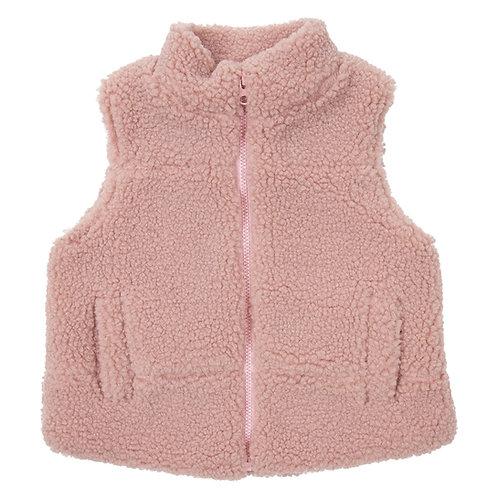 Korango Girl  Sherpa Zip Vest
