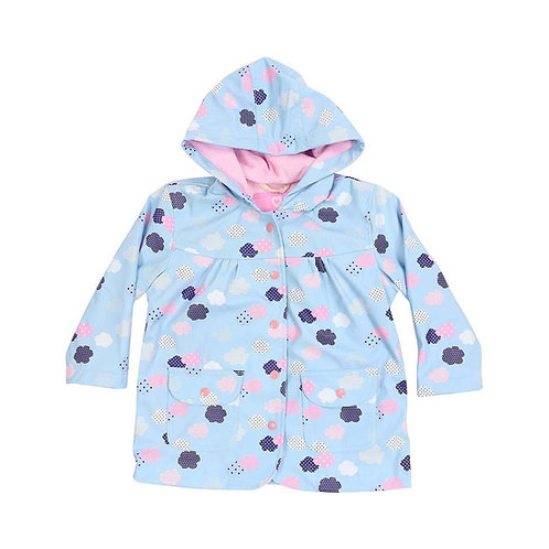 Korango Girls Cloud Print Raincoat