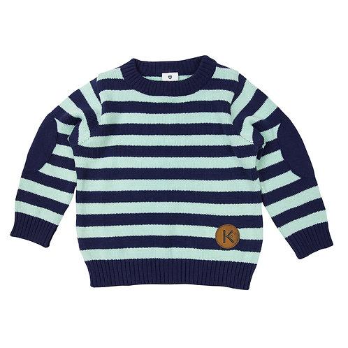 Korango Knit  Striped Sweater