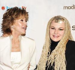 Fawn and Jane Fonda2