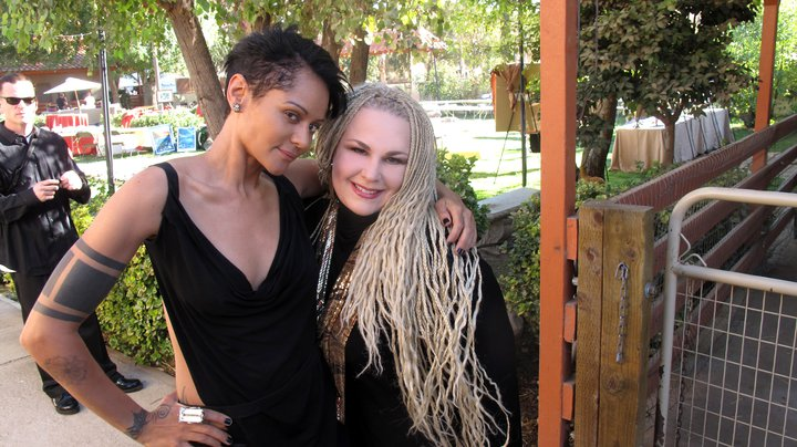 with Persia White
