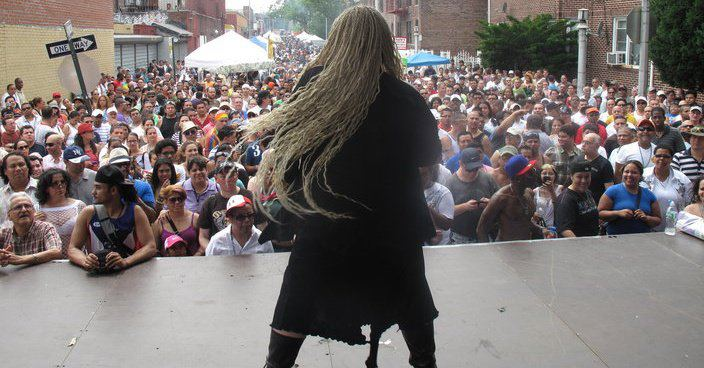Performing IN Queens, NYC