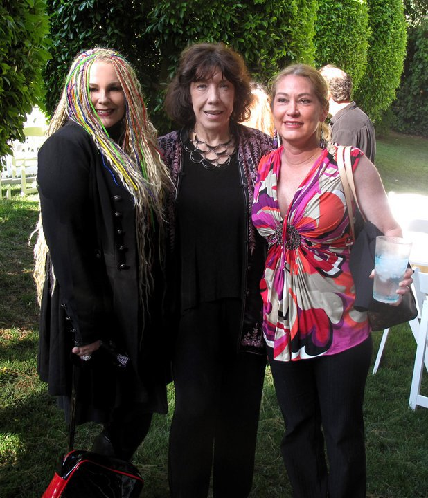 with Lily Tomlin and Robin Torme'