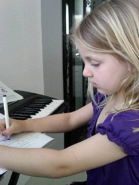 Katharine Piano Lesson