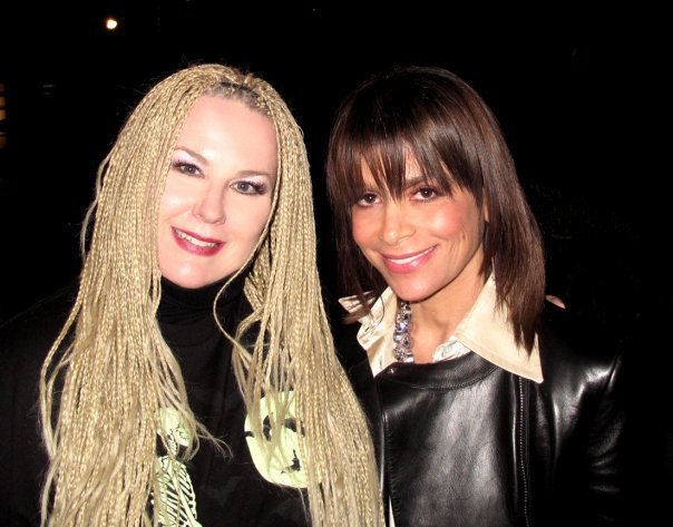 With Paula Abdul