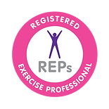 REPs logo | Registered Exercise Professional | Loughborough personal trainer