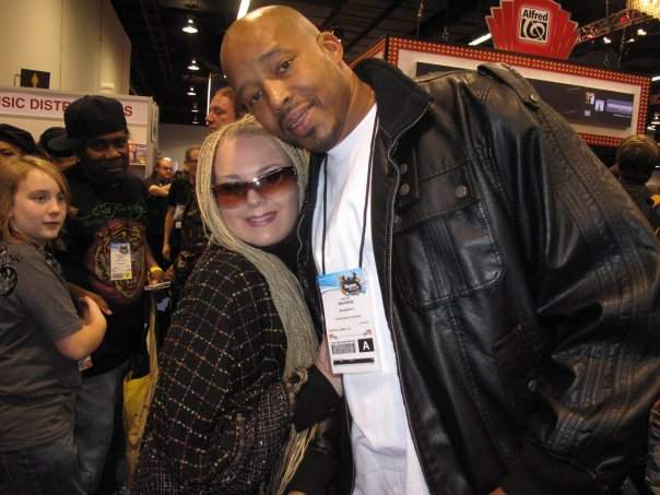 Namm with Warren G.