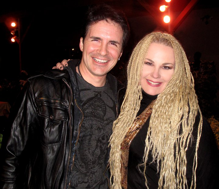with actor Hal Sparks