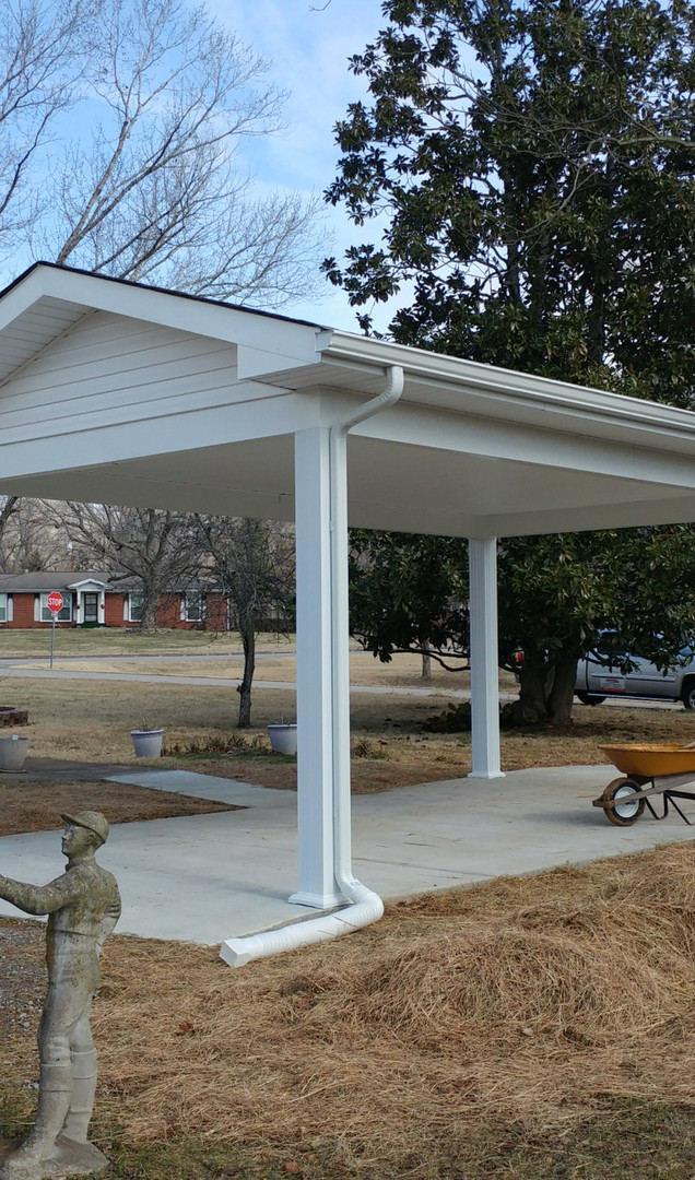 Stick Built Carport