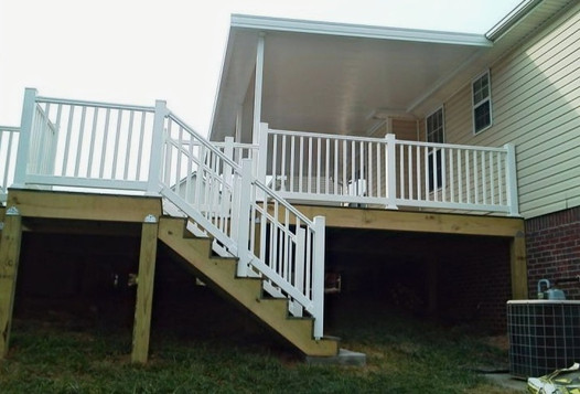 Deck, Railing, and Patio Cover
