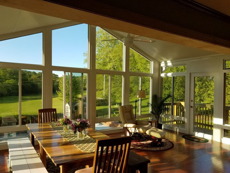 Sunroom Inside