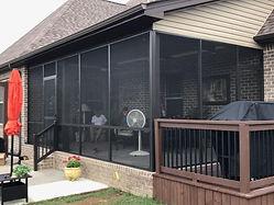 Screen Room Outdoor Space Patio Deck Home Improvement