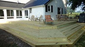Decking and Room Addition