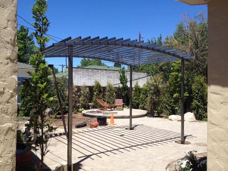 custom metal trellis