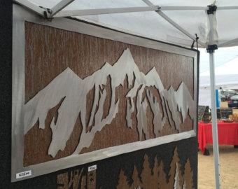 custom metal panel