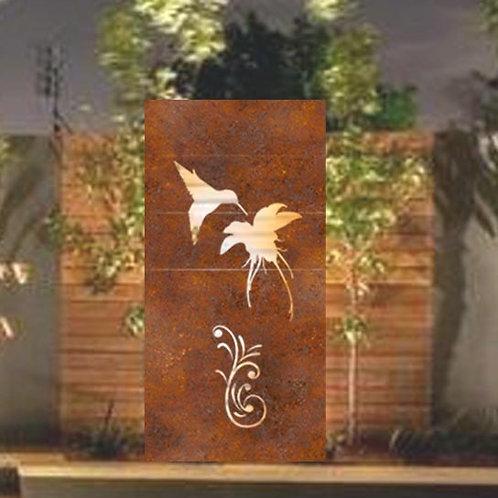 Bird1 Metal Panel