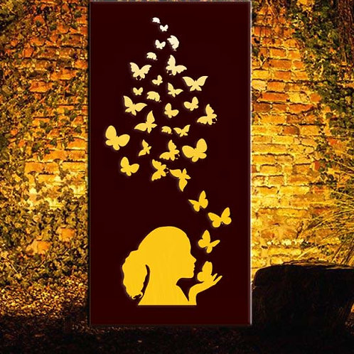Butterfly1 Metal Panel