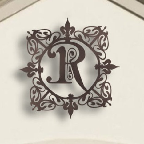 Family name - Precious Lis Letter Metal