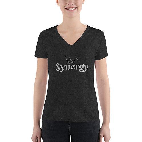 Synergy – Women's Fashion Deep V-neck Tee