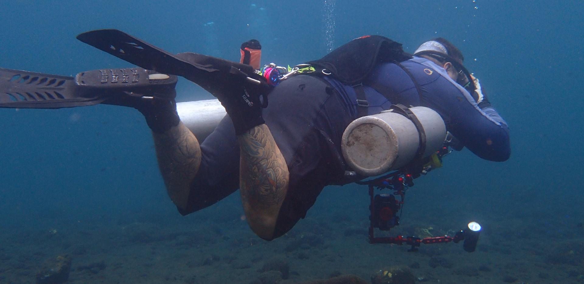 SideMount and Underwater photography div