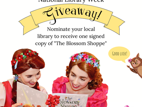 National Library Week Book Giveaway!