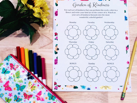 Grow a Garden of Kindness with the Blossom Sisters! | Free Printable Kids' Activity to Inspire K