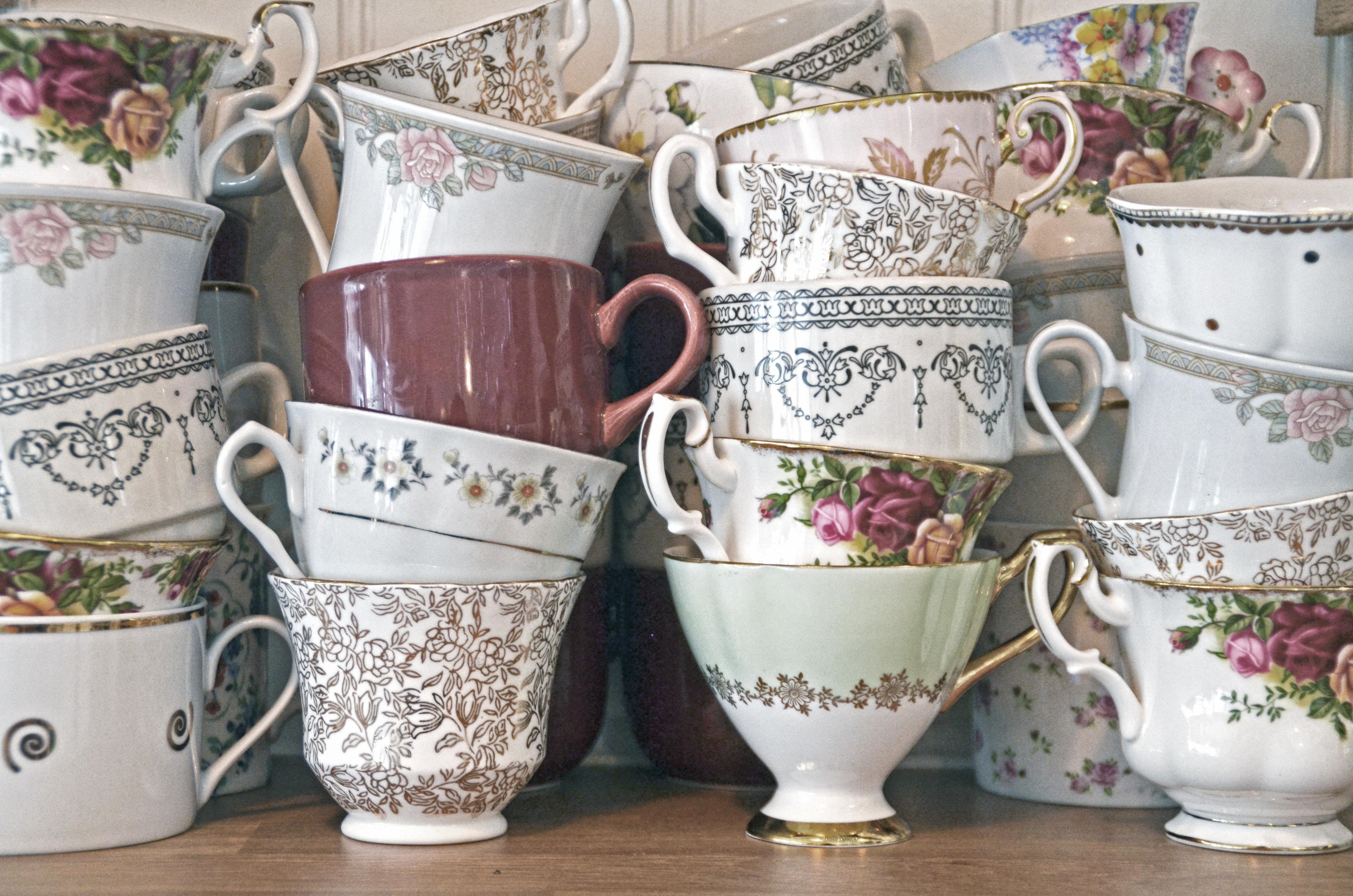 Vintage Cup Stack