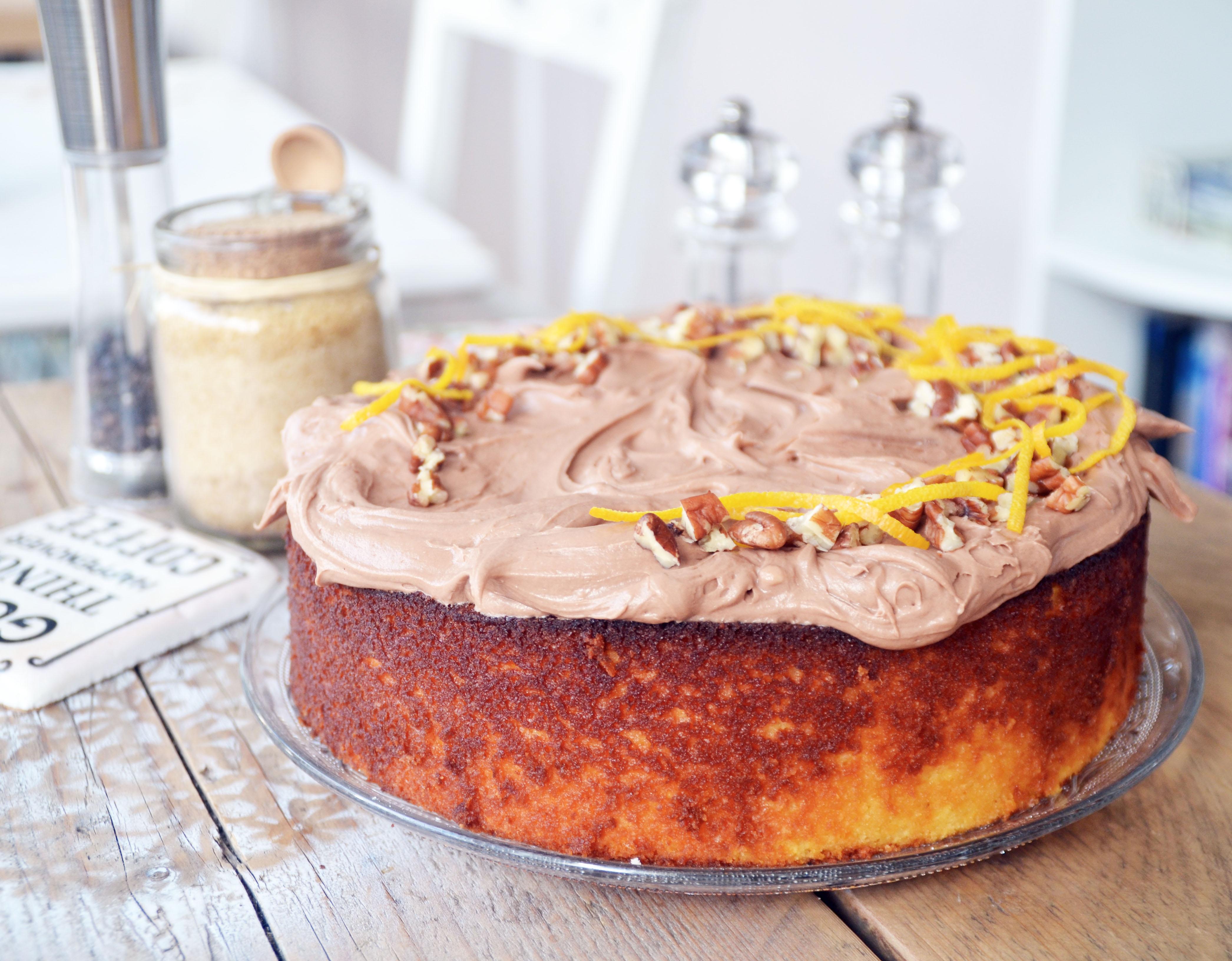 Whole Orange Cake (GF)