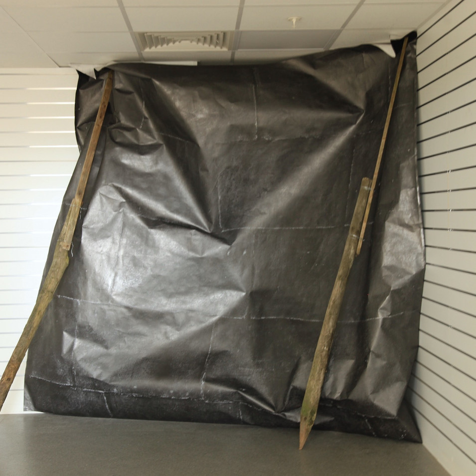 Weight of Pressure, installation St Johns. 2017