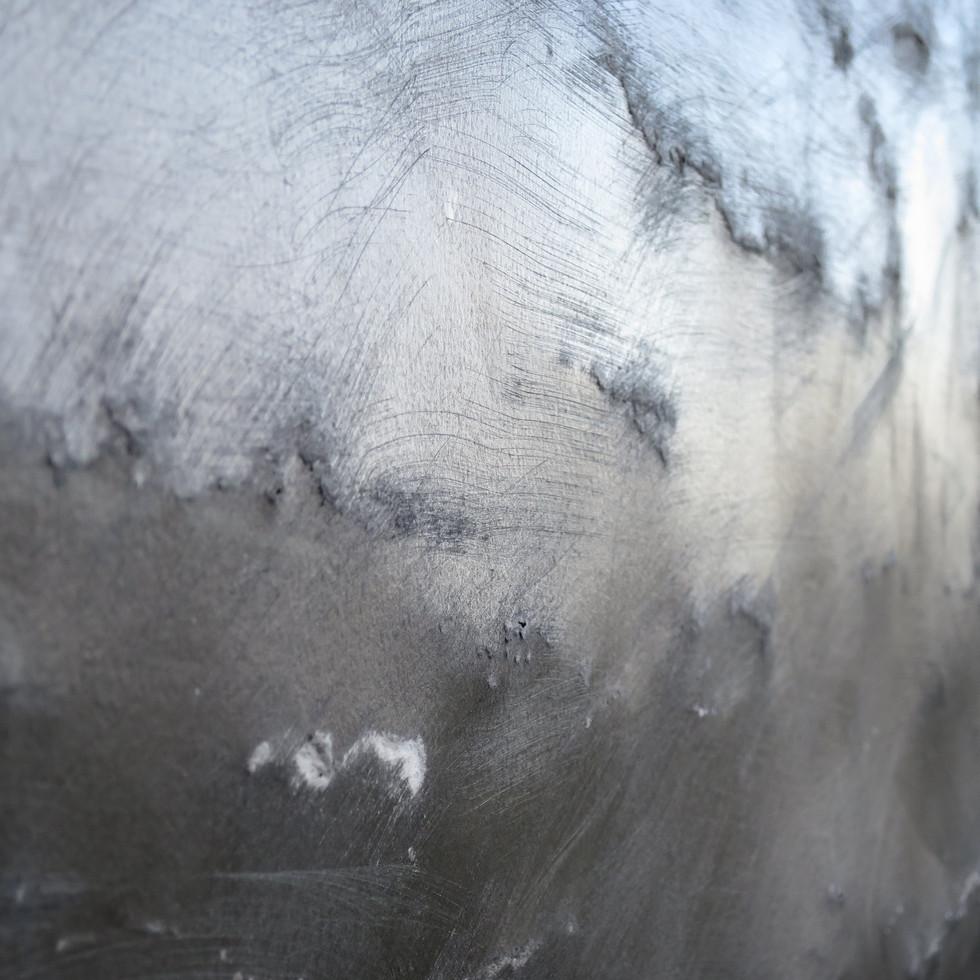 Wall, detail, exterior.