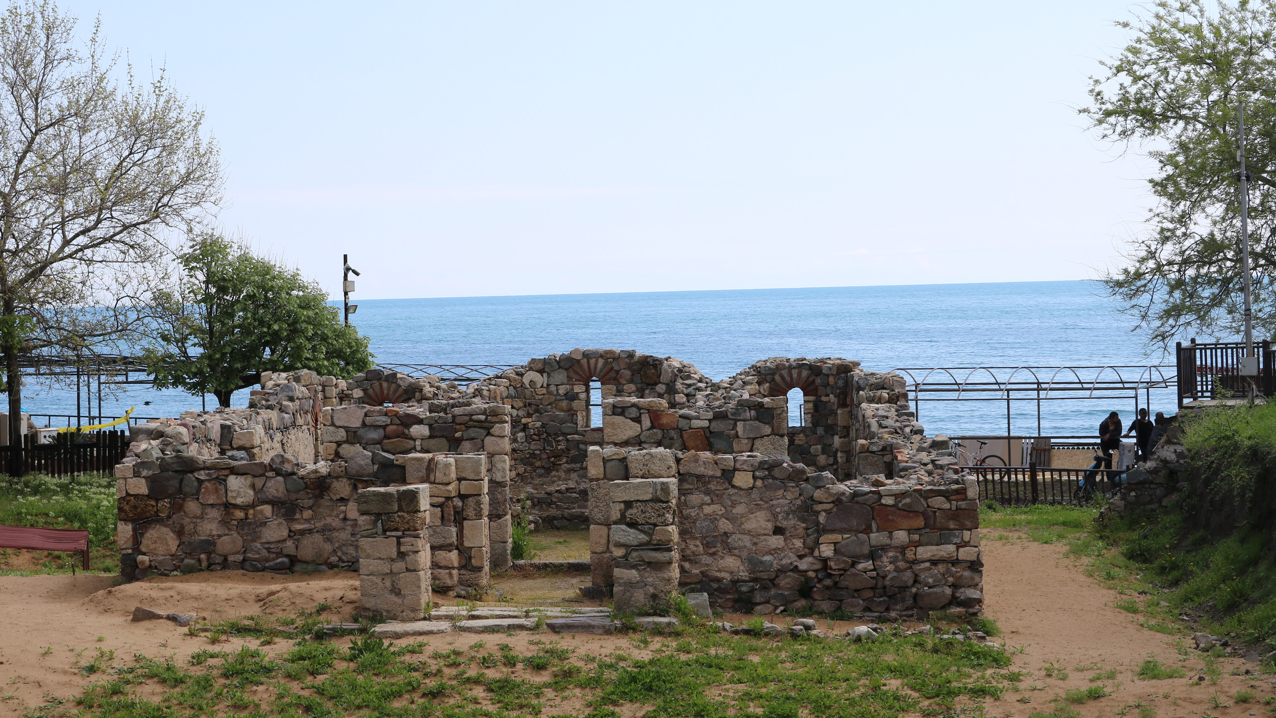 "In Sozopol we discovered ruins of a South fortress wall of the town and a  Medieval Monastery ""St. Nicholas""."