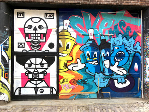The Ruins: Street Art of Spuistraat